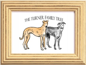 framed turner tree 500