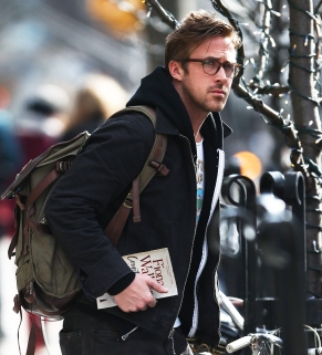 Ryan Gosling seen leaving his hotel with 'El' Topo', the book from the film by Alexandro Jodorowski in New York City, USA. Pictured: Ryan Gosling Ref: SPL512433 200313 Picture by: GSNY / Splash News Splash News and Pictures Los Angeles: 310-821-2666 New York: 212-619-2666 London: 870-934-2666 photodesk@splashnews.com